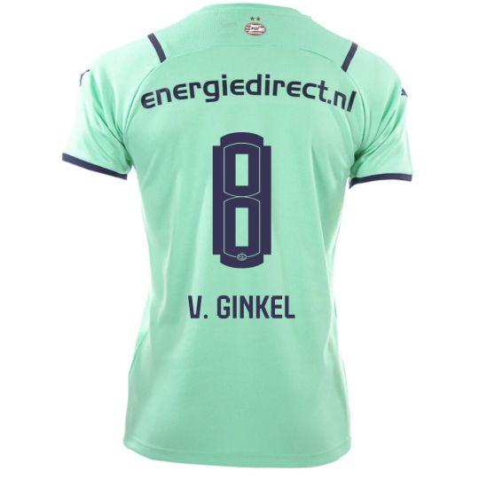 PSV V. Ginkel 8 Derde Shirt 21/22