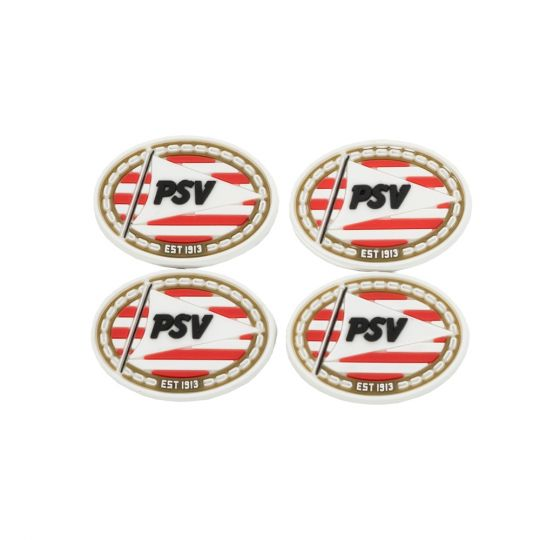 PSV Magneet Logo's (set van 4)