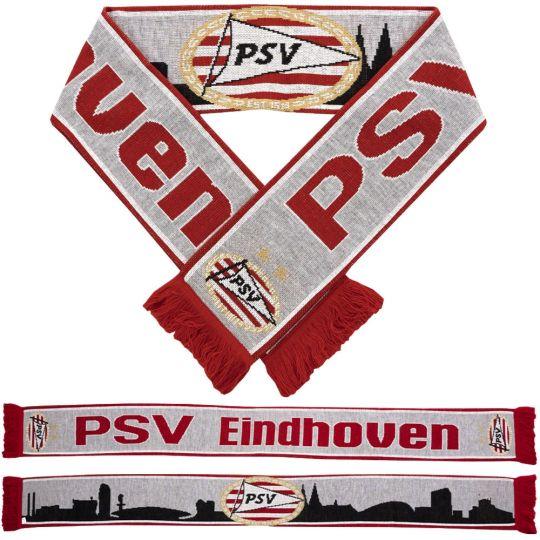 PSV Sjaal Skyline grijs