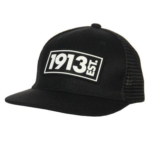 1913 Cap Trucker zwart