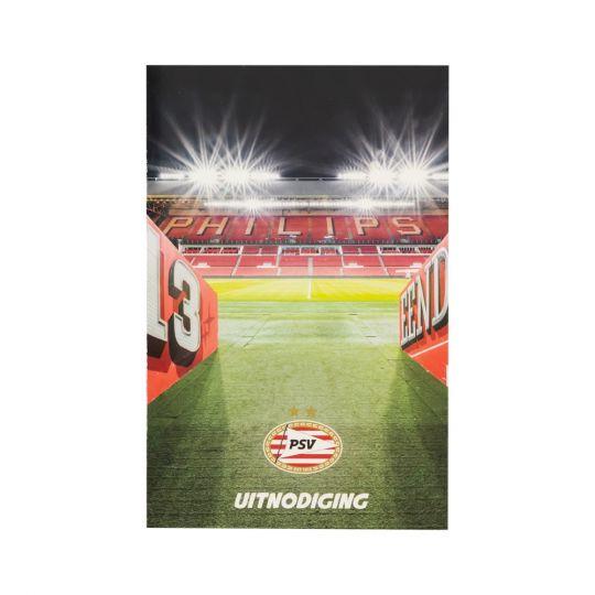 PSV Uitnodigingen (6 stuks)