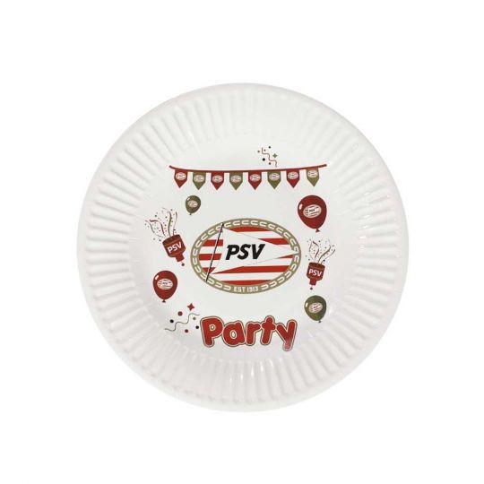 PSV Papieren Bordjes (12-pack)