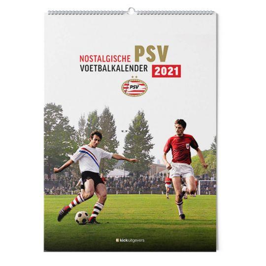 Nostalgische Voetbalkalender PSV