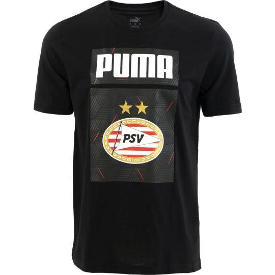 PSV Shoe Tag T-shirt JR 20/21 Zwart