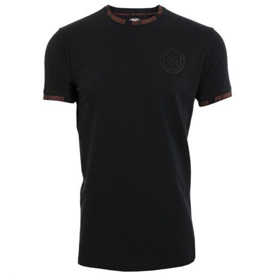 PSV T-shirt EMM Cross zwart