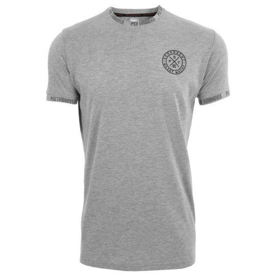 PSV T-shirt EMM Cross grijs