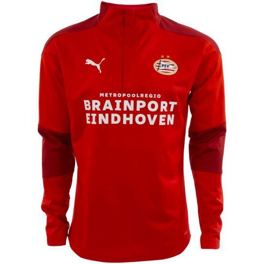 PSV Trainingssweater Regen 20/21 Rood