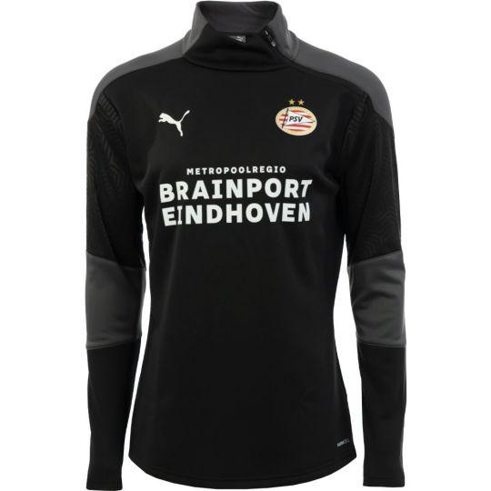 PSV Trainingssweater Fleece 20/21 Zwart