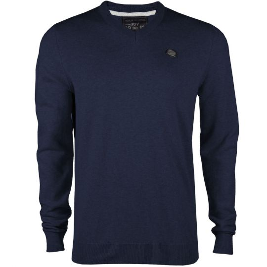 PSV Premium Sweater V-neck d.blauw AW19