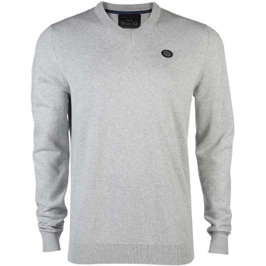 PSV Premium Sweater V-neck grijs AW19