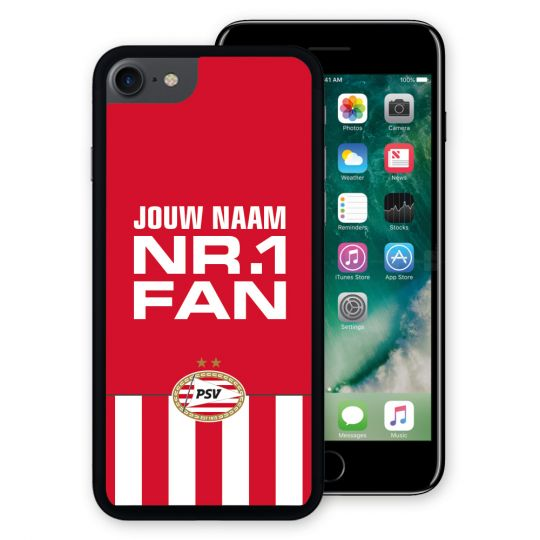 PSV Iphone 7/8 Cover (Nr.1 Fan) Gepersonaliseerd