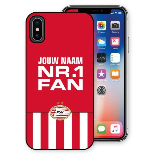PSV Iphone X Cover (Nr.1 Fan) Gepersonaliseerd